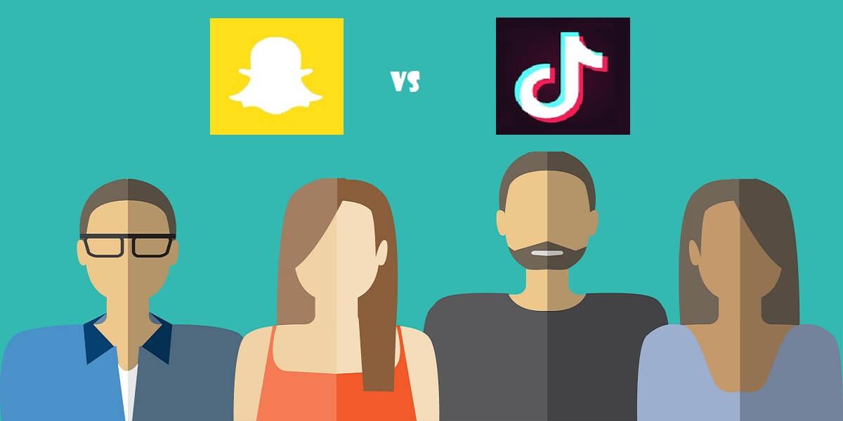 Snapchat Versus Tiktok Five Channels Marketing