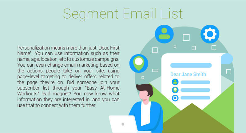 Why you should segment your email list.
